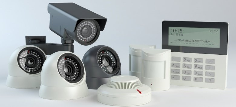 Surveillance camera and alarms
