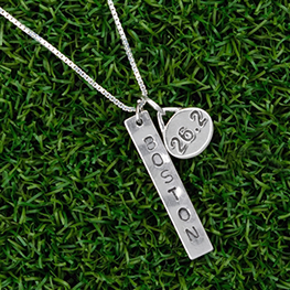Running charms and running necklace