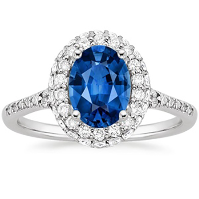 Brilliant Earth Kate Middleton Sapphire Ring