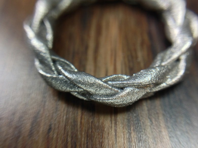 Four Strand Braided Ring