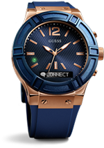 GUESS Connect Blue