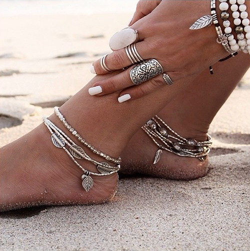 Tropicana Anklet