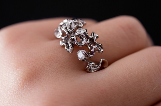 3D Printed Jewelry - Engagement Ring