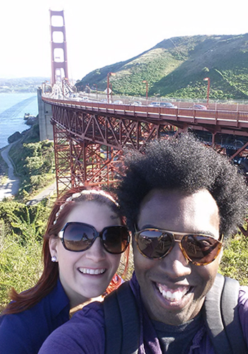 Jared and Whitney in San Francisco