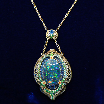 Louis Comfort Tiffany Necklace, ca. 1900