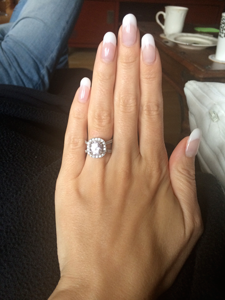 Engagement Ring Manicure