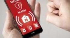 security alarm phone app