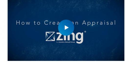 how to create an appraisal on zing video thumbnail